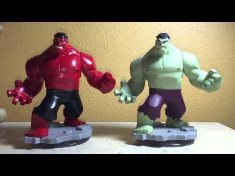 Figurine Disney Infinity 2.0 Hulk Marvel Super Heros sur  Jeux vidéo top prix