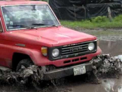 Toyota Land Cruiser jeep 4x4 - YouTube