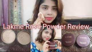 Lakme Rose Powder With Sunscreen Soft Pink VS Warm Pink My Honest Review