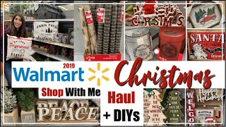 Walmart Christmas Shop With Me 2019 , Walmart Haul + Christmas DIYs | Momma From Scratch
