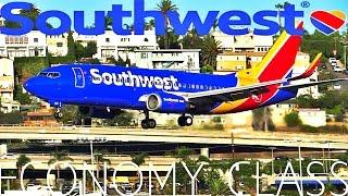 Southwest Airlines San Diego to San Francisco B737-3 W/ATC