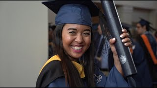 Rice University students graduate at the December Convocation Ceremony