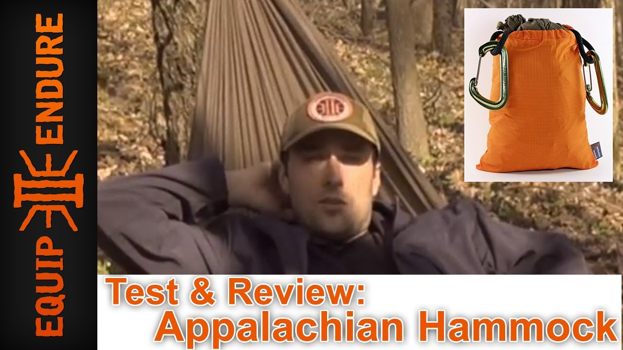 original appalachian hammock test and review by equip 2 endure original appalachian hammock test and review by equip 2 endure      rh   youtube