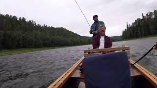 Glen Eden Salmon Lodge - Drone footage July 2018 Pt2