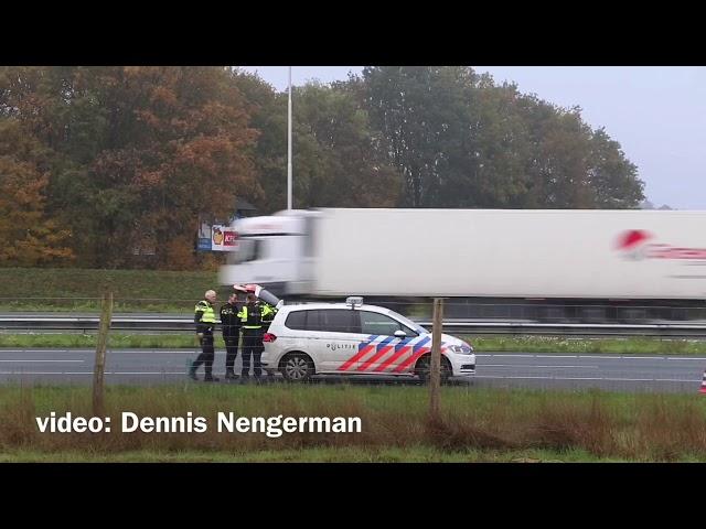 Aanhouding op A1 bij Hengelo