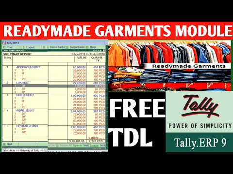 Repeat how to maintain inventory of readymade garment or textile in