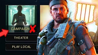 Black Ops 4: The TRUE Reason Campaign Was Cut(?) & More LEAKED By Former Treyarch Employee