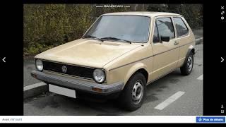 Volkswagen GOLF 1983-2020