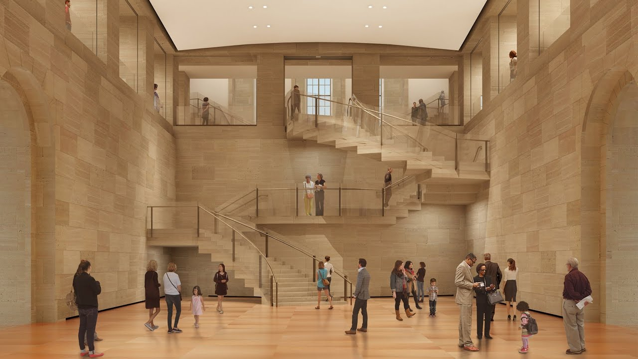 Frank Gehry S Philadelphia Museum Of Art Renovation Breaks