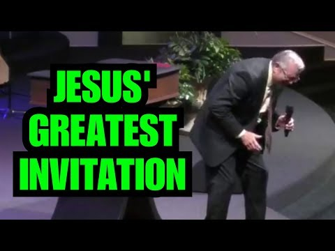"""Jesus' Greatest Invitation"" – Wayne Huntley"