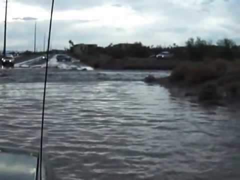 After heavy rain -monsoon in Lake Havasu City, July 13,2012