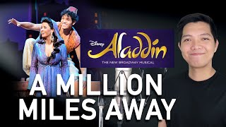 A Million Miles Away (Aladdin Part Only - Instrumental) - Aladdin The Musical
