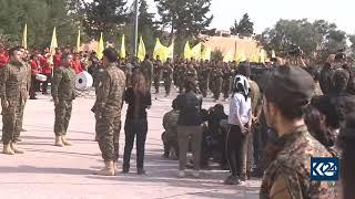 YPG-YPJ-DSG, IŞİD'e karşı zaferini Ey Reqip marşı ile kutladı