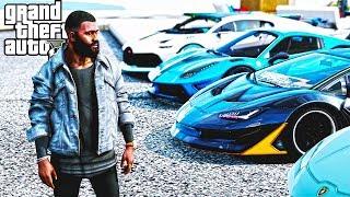 LE AUTO COSTOSE DI CRISTIANO RONALDO : GTA 5 MOD VITA DA GANGSTER #109