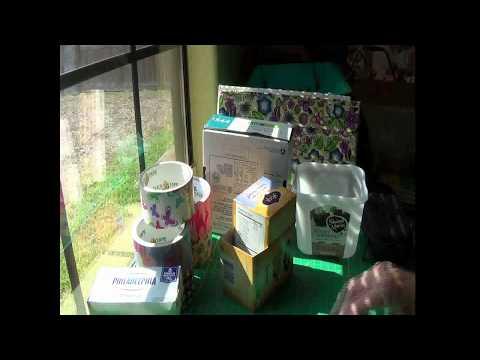 DiY: Covering Tea Boxes