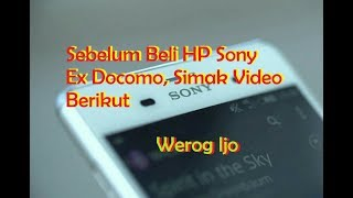 Review Sony Xperia Z3 Docomo.