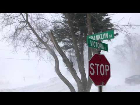 Road Closure in Dufferin County.  County Road 11