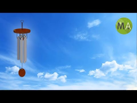 Wind Chimes With Light Wind - Ambient Soundscape