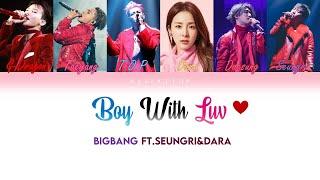 How would bigbang ft.Seungri&Dara sing BTSft.Halsey - Boy wi…