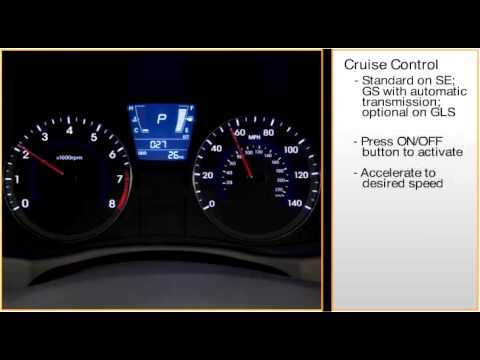Accent -- Cruise Control