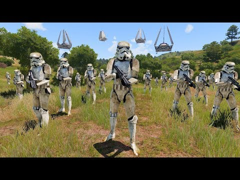 Storm Trooper Evacuation- Halo VS Star Wars VS Warhammer 40K Ep - 18