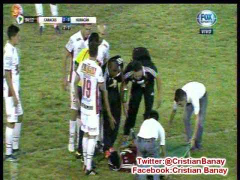 (Relator Enojado) Caracas 2 Huracan 1 (Union Radio)  Copa Libertadores 2016