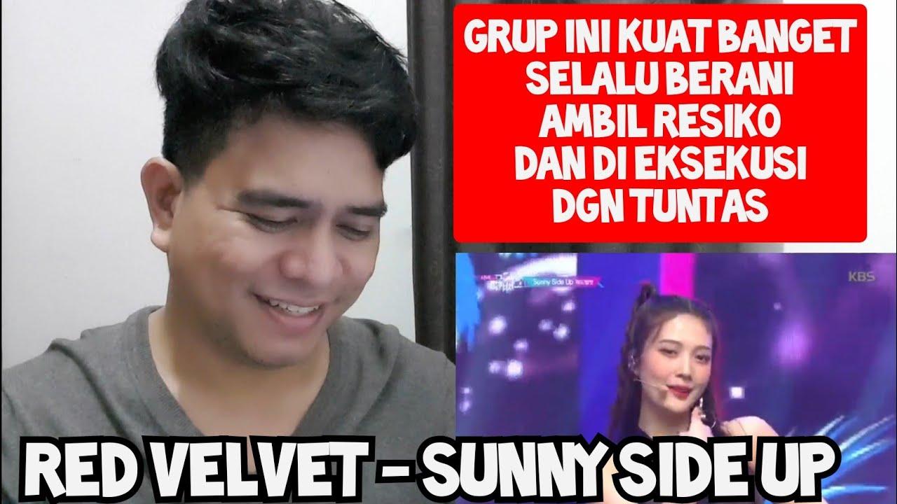 BERANI AMBIL RESIKO | RED VELVET - SUNNY SIDE UP (Reaction)