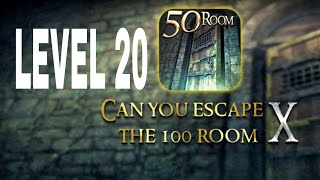 Can You Escape The 100 room X level 20 Walkthrough