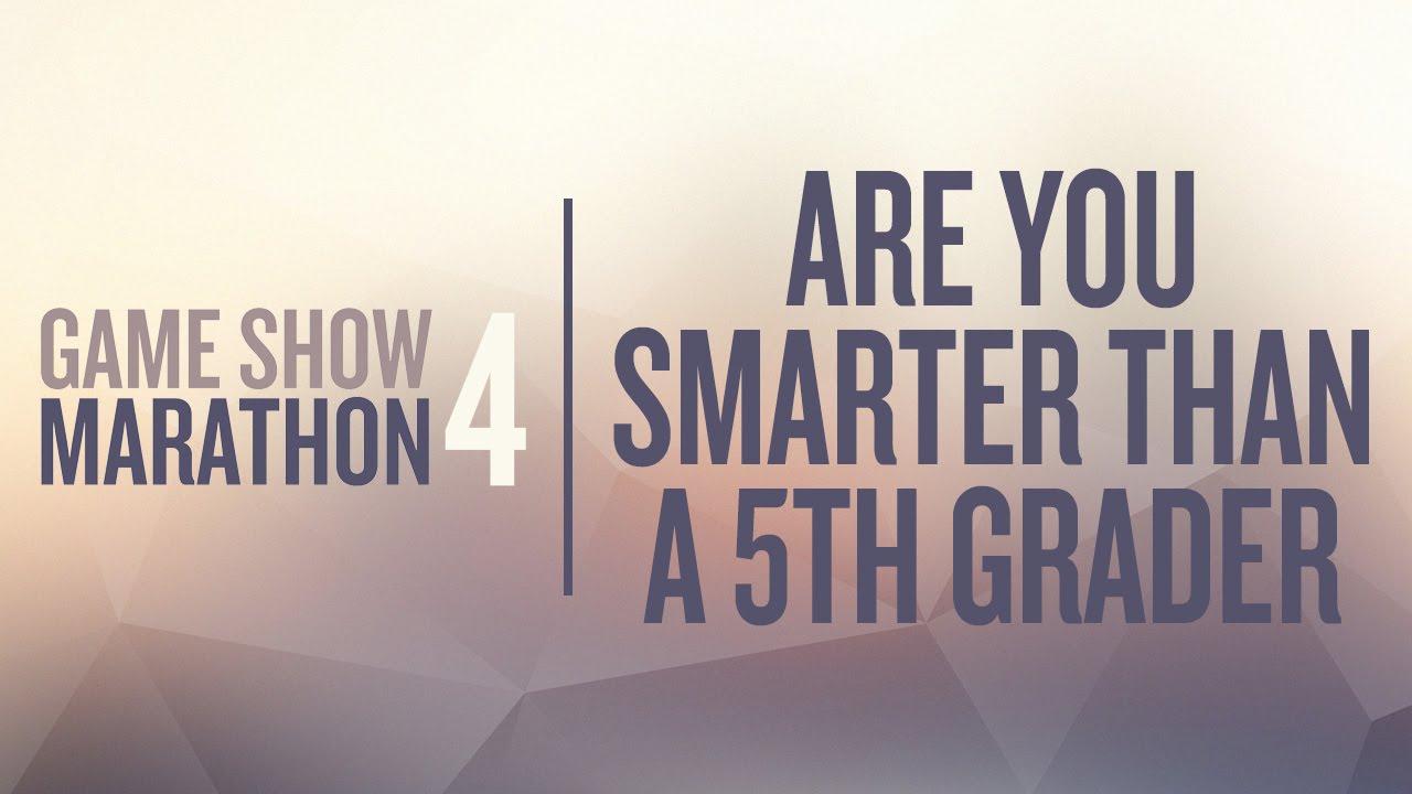 Are you smarter than a 5th grader? - PurposeGames.com