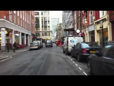 London streets (306.) - China Town - SOHO - Regent street
