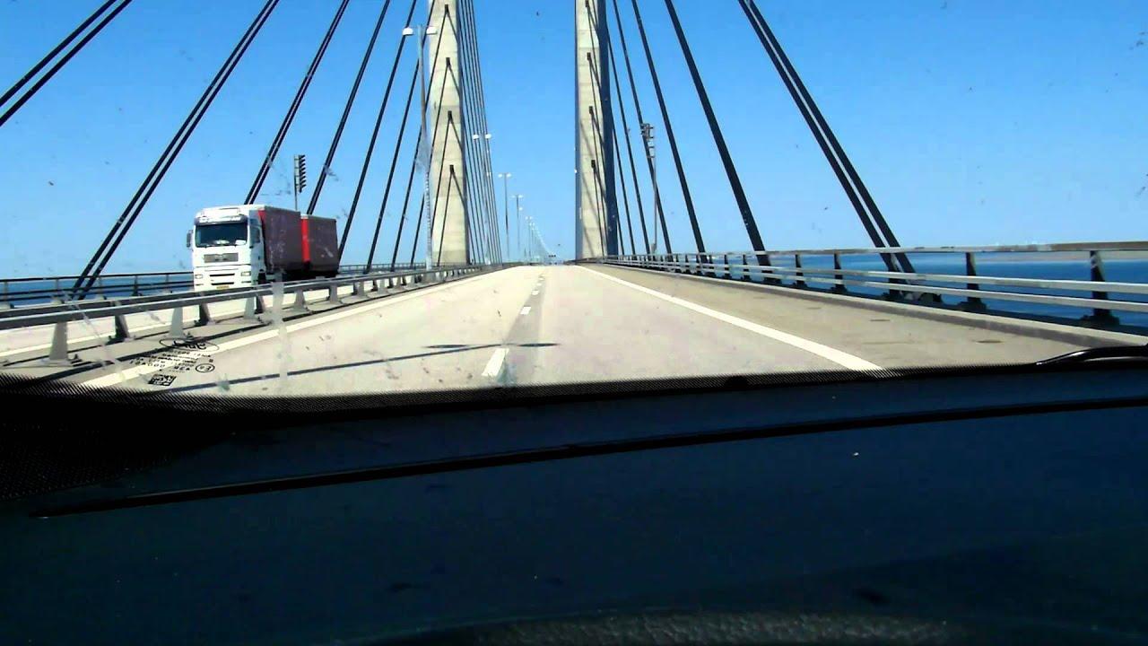Pont Entre La Suede Et Le Danemark