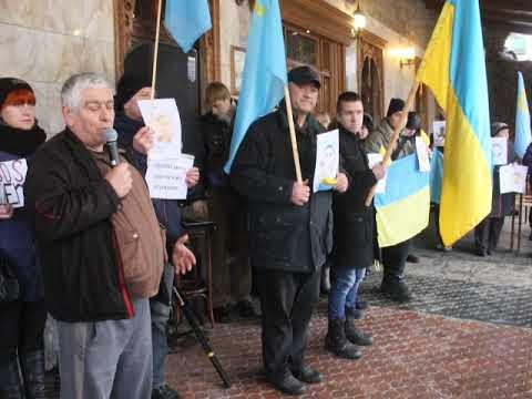 Местные Вести: В Мелитополе прошла акция в поддержку заключенных в Росии-2