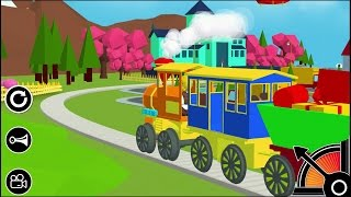 3D Toy Train - Free Kids Train Game iPhone Gameplay #2