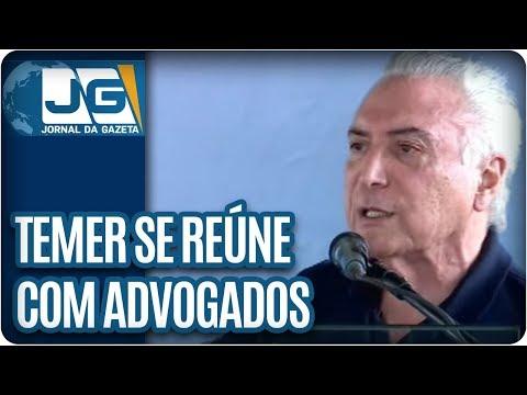 Temer se reúne com advogados em São Paulo para debater quebra de sigilo bancário