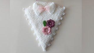 Collared Triangular Pouch Fiber Model Making  knittingmodels knitting