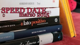SPEED DATiNG WiTH BOOKS! Marzo 2015