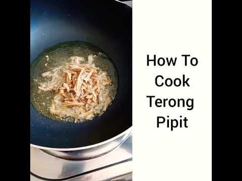 How To Cook Turkey Berry #turkeyberry #terungpipit #fry