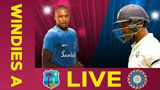 Watch LIVE cricket between West Indies A and India A in Day 3 of the Third Test