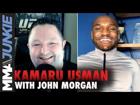 Kamaru Usman talks 'TUF' with Jorge Masvidal, criticizes Colby Covington   MMA Junkie