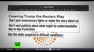 'Stay Calm'  Media devises new rules on how to cover President Trump