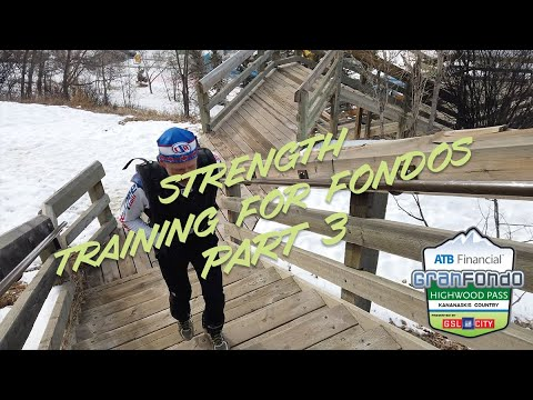 Strength Training for Fondos Part 3 - Running Stairs!