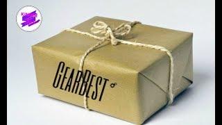 Распаковка посылки от GearBest. Посылка из Китая.