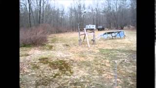 Setting Up Homestead Garden Area And Off Grid Electric Fencing