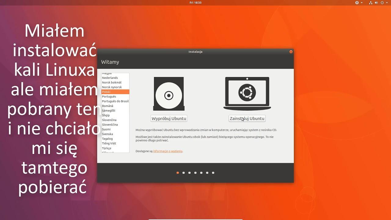 Jak używać virtualbox + instalacia Linuxa - YouTube