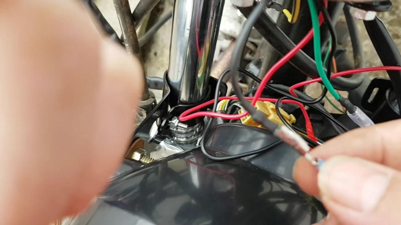 Suzuki Gn 125 Tachometer Instal Youtube Wiring A Diagram