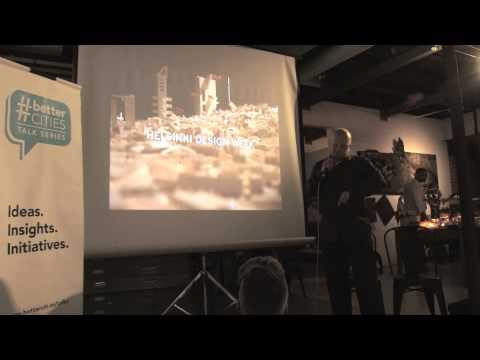 #BetterCities Conversations with KRADS - Kristján Örn Kjartansson