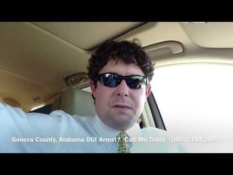 Geneva County, Alabama DUI Lawyer - Attorney for Geneva County, AL DUI Arrest