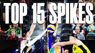 TOP 15 Spikes • The Hague 4 Star 2018 • Beach Volleyball World