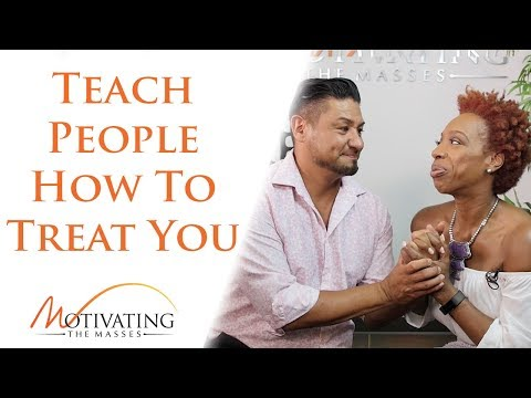 Lisa Nichols - Teach People How To Treat You