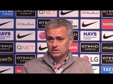 Manchester City 0-0 Manchester United - Jose Mourinho Full Post Match Press Conference